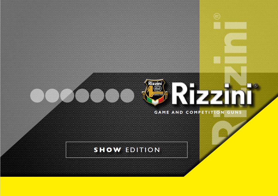 CATALOGO RIZZINI 2018 - Accessori Armi, Armi Lunghe, Rizzini