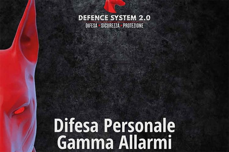 Catalogo Defence System Difesa personale - Gamma Allarmi 2020-21